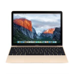 "PORTATIL APPLE MACBOOK CORE M3 1.1GHZ/8GB/FLASH 256GB/12""/MAC OS X EL CAPITAN/ORO"
