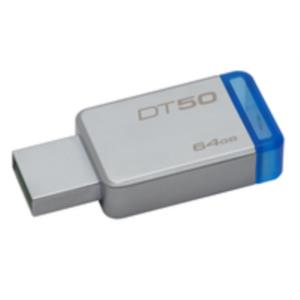 MEMORIA 64 GB REMOVIBLE KINGSTON USB 3.0 DT 50
