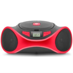 REPRODUCTOR CD CLAP BOOMBOX ROJO SPC