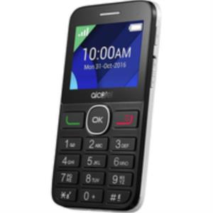 "TELEFONO MOVIL LIBRE ALCATEL IBERIA 20.08G/PANTALLA 2.4""/BLACK WHITE"