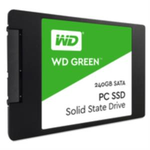 "DISCO DURO 240GB 2.5"" WESTERN DIGITAL SSD SATA3 GREEN"