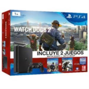 PS4 1TB + WATCHDOGS + WATCHDOGS 2