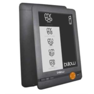 "LIBRO ELECTRONICO 6"" BILLOW E02E 4GB E-INK GRIS"