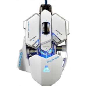 RATON BLUESTORK KULT 400 4000DPI BLANCO GAMING