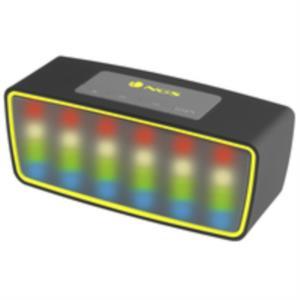 ALTAVOZ 1.0 BLUETOOTH NGS 3W ROLLER GLOW NEGRO/AMARILLO