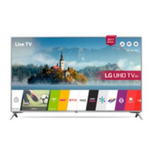 "LG 43UJ651V 43"" 4K Ultra HD Smart TV Wifi Negro, Plata LED TV"