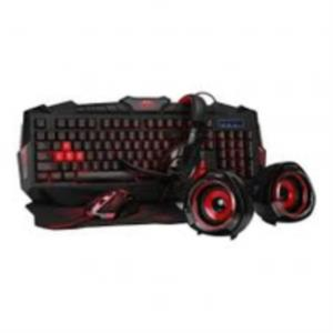 KIT GAMING WOXTER STINGER FX 70 TECLADO + RATON + AURICULARES + ALTAVOCES