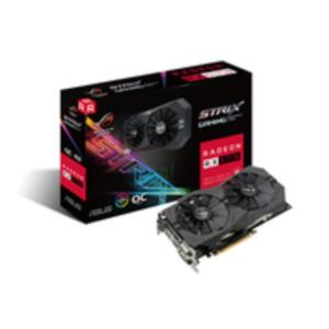 TARJETA GRAFICA 4GB AMD ASUS RX 570 STRIX GAMING O4G PCX3.0 DDR5 HDMI-DPORT