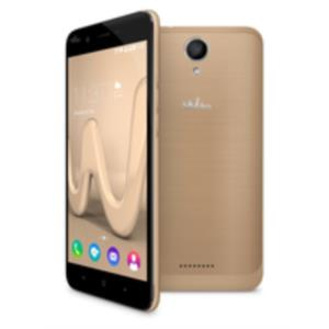 "TELEFONO MOVIL LIBRE WIKO HARRY 5"" HD/QUAD CORE 1.3GHZ/16GB/3GB/ANDROID 7.0/DORADO"