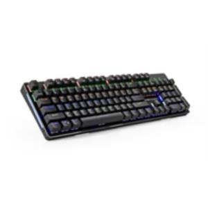 TECLADO MECANICO GAMING MARS GAMING MK4 LED RGB SWITCH ROJO
