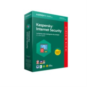 ANTIVIRUS KASPERSKY INTERNET SECURITY 3 USUARIOS PARA PC, MAC Y DISPOSITIVOS MOVILES