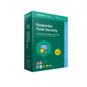 ANTIVIRUS KASPERSKY TOTAL SECURITY 3 USUARIOS PARA PC, MAC Y DISPOSITIVOS MOVILES