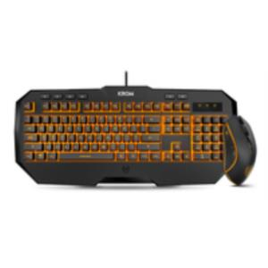 PACK TECLADO + RATON KODEX RETROILUMINADO LED USB