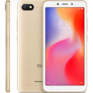 "TELEFONO MOVIL LIBRE XIAOMI REDMI 6A 5.45"" HD/4G/QUAD CORE 2.0GHZ/2GB RAM/32GB/ORO"