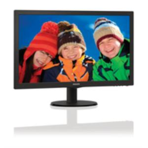 "MONITOR 23.6"" PHILIPS 243V5LSB LED 1920 X 1080 DVI/VGA"