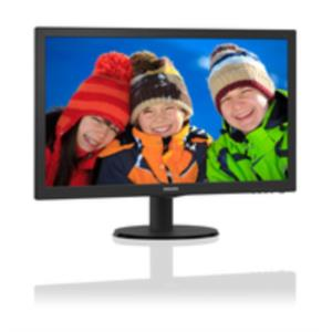 "MONITOR 21.5"" PHILIPS 223V5HLSB2 LED 1920X1080 HDMI VGA NEGRO"