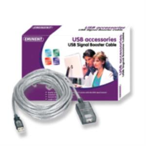 CABLE PROLONGADOR EMINENT USB 2.0 5 MTS. CON AMPLIFICADOR