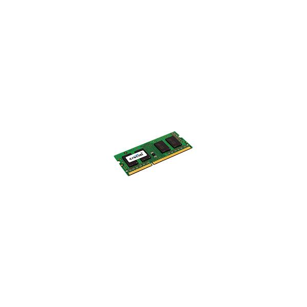 MEMORIA PORTATIL 2 GB DDR3 1600 CRUCIAL CL11