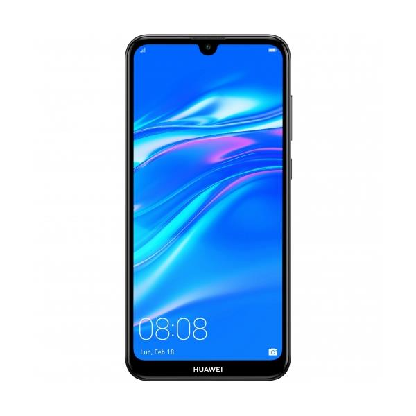 """TELEFONO MOVIL LIBRE HUAWEI Y7 2019 6.26"""" HD+/4G/OCTA CORE 1.8GHZ/3GB RAM/32GB/ANDROID 8.1/NEGRO"""