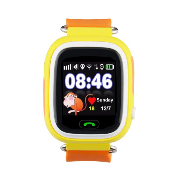"SMARTWATCH LEOTEC KIDS WAY GPS ANTI-PERDIDA 1.22""IPS TACTIL GPS LLAMADAS BOTON SOS COLOR NARANJA"
