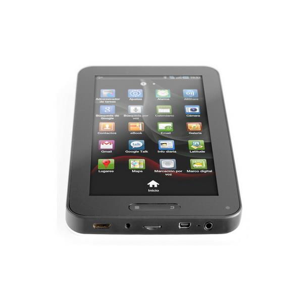 """TABLET WOXTER TB26-002 7"""" TFT/8GB/ANDROID 2.3/WIFI/NEGRO"""