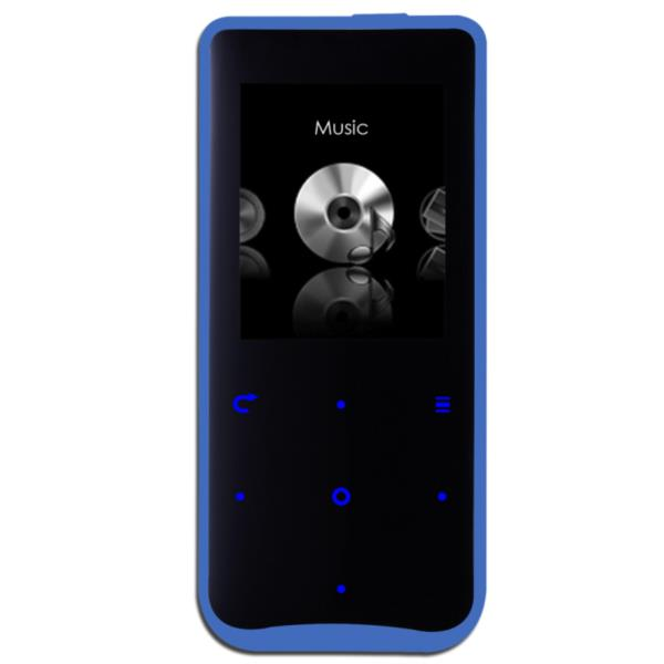 REPRODUCTOR MP4 APPROX 4GB SLIM NEGRO/AZUL