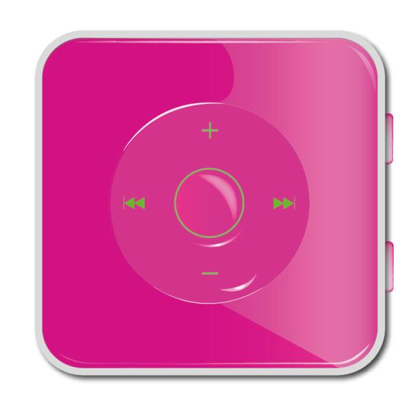 REPRODUCTOR MP3 APPROX 4GB  SPORT PLAYER ROSA