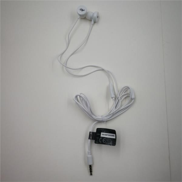 AURICULARES + MICRO IN-EAR NETWAY BLANCO