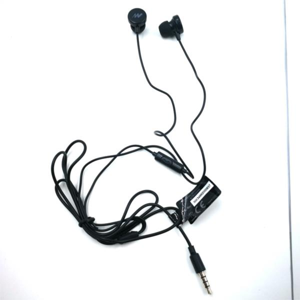 AURICULARES + MICRO IN-EAR NETWAY NEGRO