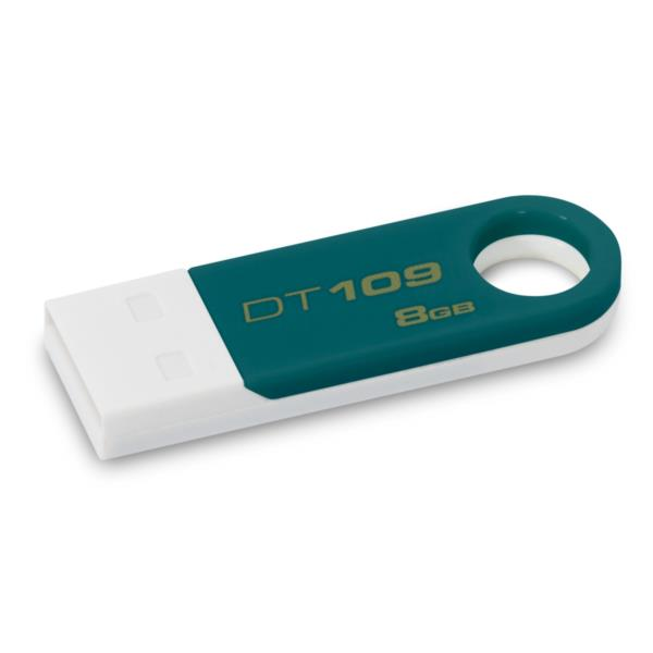MEMORIA 8 GB REMOVIBLE KINGSTON USB 2.0 DT109 VERDE