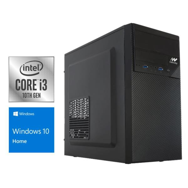 PC Sobremesa Netway Plus i3-10100 3,6Ghz/8Gb DDR4/240Gb SSD/W10 Home - PCBox