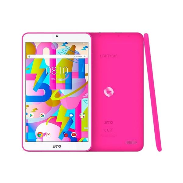 """TABLET SPC LIGHTYEAR 8"""" IPS/2GB RAM/16GB/QUAD CORE 1.3GHZ/ANDROID 8.1/ROSA"""