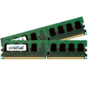 MEMORIA KIT 4 GB (2X2 GB) DDR2 800 CRUCIAL CL5