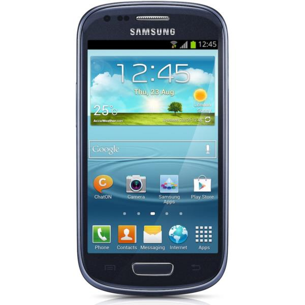 TELEFONO MOVIL LIBRE SAMSUNG GALAXY S3 MINI BLUE GT-I8190MBAPHE