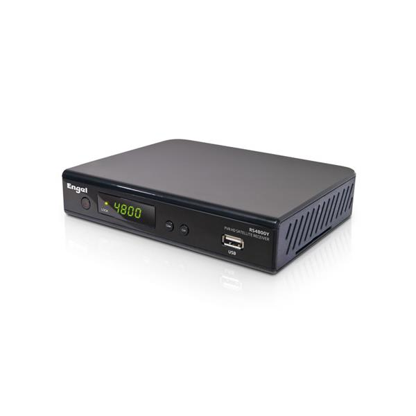 RECEPTOR SATELITE ENGEL RS4800Y PVR WIFI HDMI MANDO TWIST QWERTY YOU TUBE