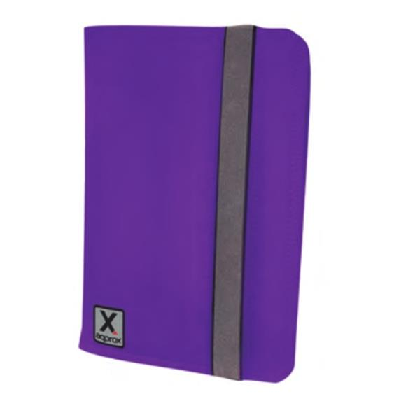 "FUNDA TABLET 7"" APPROX STAND VIOLETA"