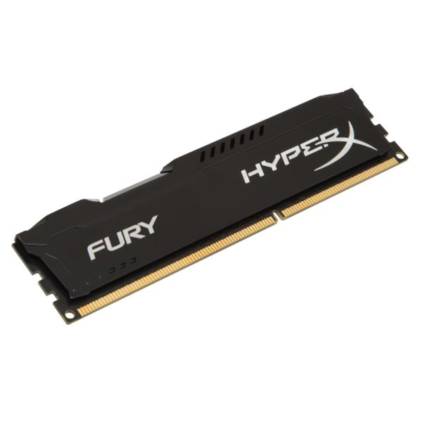 MEMORIA 8 GB DDR3 1600 KINGSTON HYPERX FURY BLACK CL10