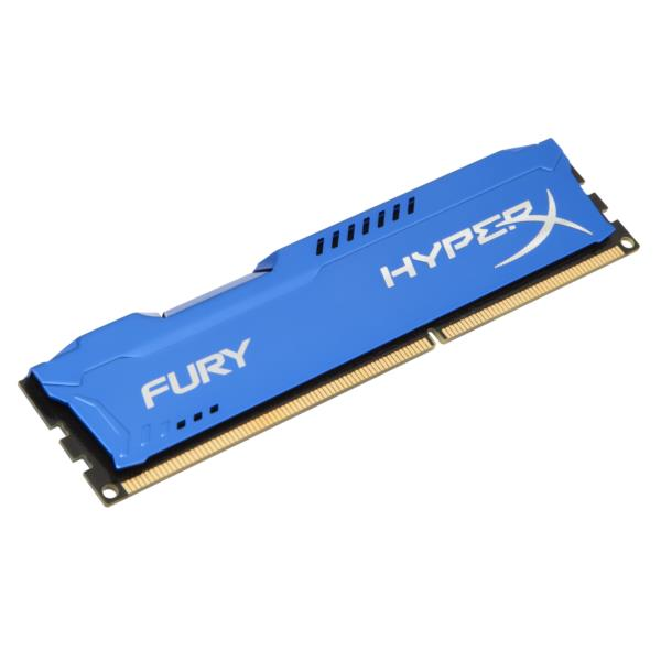 MEMORIA 8 GB DDR3 1866 KINGSTON HYPERX FURY BLUE CL10