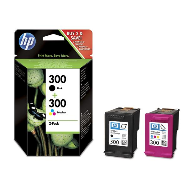 PACK COMBO CARTUCHOS HP 300 / 300C