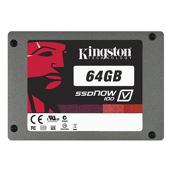 "DISCO DURO 64GB 2.5"" KINGSTON MAESTRO DE SISTEMA SSD V100 SATA2"