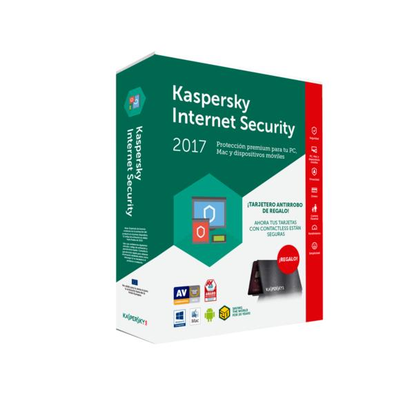 antivirus kaspersky internet security 3 equipos multi. Black Bedroom Furniture Sets. Home Design Ideas