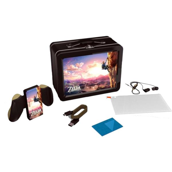 KIT DE ACCESORIOS POWER A LUNCHBOX KIT THE LEGEND OF ZELDA: BREATH OF THE WILD PARA SWITCH