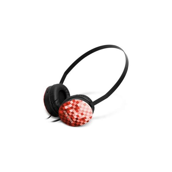 AURICULARES CREATIVE HQ-1450 NEGRO/ROJO