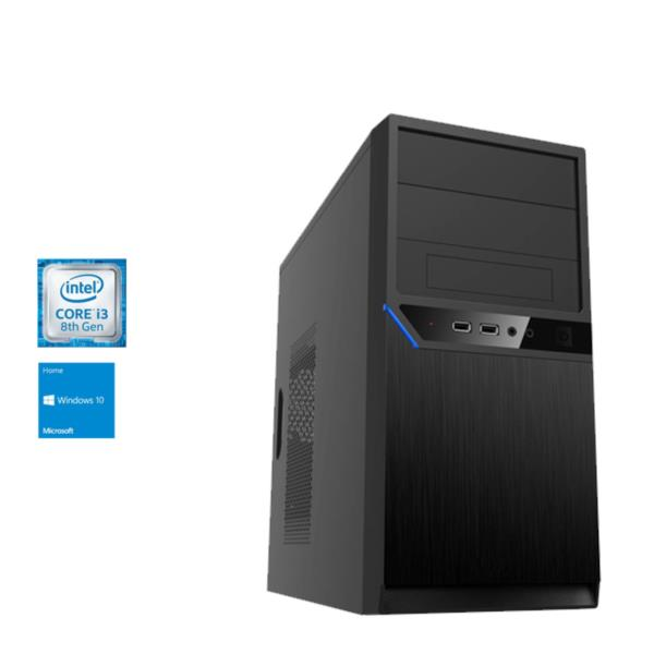 ORDENADOR NETWAY PLUS i3-8100 3,6GHz/8GB DDR4/1TB/DVD/W10