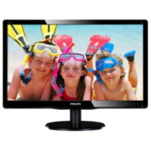 "MONITOR 18.5"" PHILIPS 196V4LAB2 LED 1366x768 DVI MULTIMEDIA NEGRO"