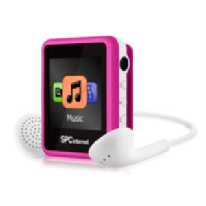 REPRODUCTOR MP4 SPC INTERNET 4GB 8234 ROSA RADIO FM CLIP