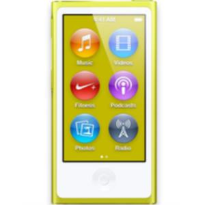 REPRODUCTOR MP5 IPOD NANO 16GB YELLOW