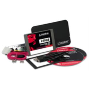 "DISCO DURO 240GB 2.5"" KINGSTON SSD SATA3 V300 UPGRADE KIT"