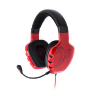 AURICULARES + MICRO OZONE GAMING RAGE ST ROJO JACK 3.5MM
