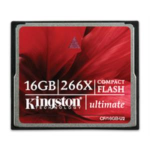 MEMORIA 16 GB COMPACT FLASH KINGSTON ULTIMATE